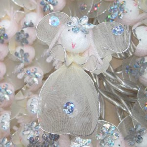White and Silver Glittering Fairy Lights