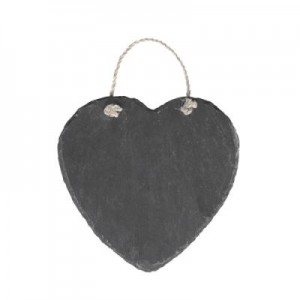 Natural Slate Heart