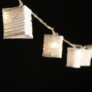 White Paper Lantern Lights