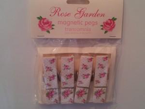 Rose Garden Magnetic Pegs