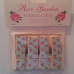Rose Garden Magnetic Pegs
