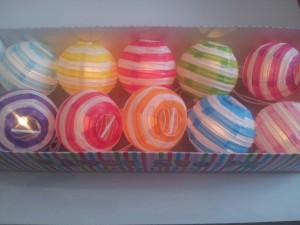 Candy Stripe Party Lights