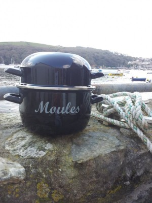 Moules Pot – Black