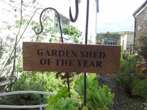 Garden Sign – Garden Shed Of The Year