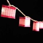 Pink Gingham Lanterns