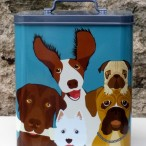 Doggie Treat Tin